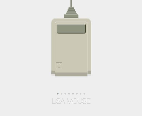 Pure CSS Website Showcases Every Mouse Apple Has Ever Created - DesignTAXI.com