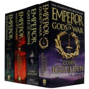 Emperor Series by Conn Iggulden is by far in my top 3 series of books to read.