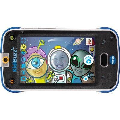 VTech KidiBuzz Blue, Toy Phones Kids safe, Smart