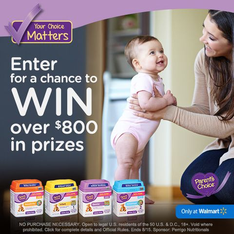 Win 1 of 5 100 Walmart Cards or 1 of 10 30 Parents