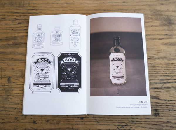 Graphic Notes Portfolio by Christopher J. Lee, via Behance