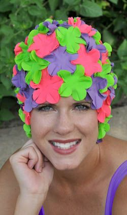 we love our swimming caps we got 4 and everyone loves them sweet , cute and fresh ...