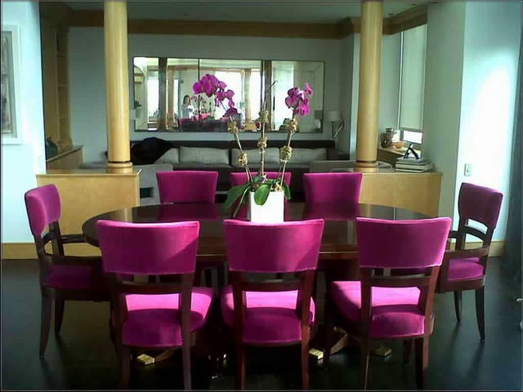 Room Inspiration Pink Dining Chairs