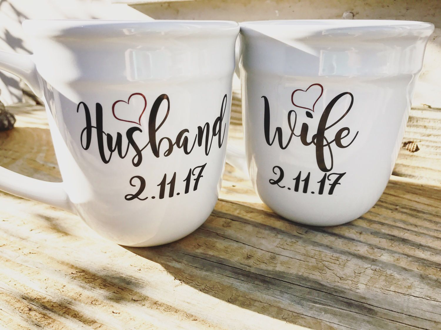 Engagement Gift Bride To Be For Best Friend Couples His And Hers Mugshis Coffee Mug