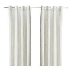kant en klare gordijnen van ikea voor de woon en slaapkamer venstergordijnen jute