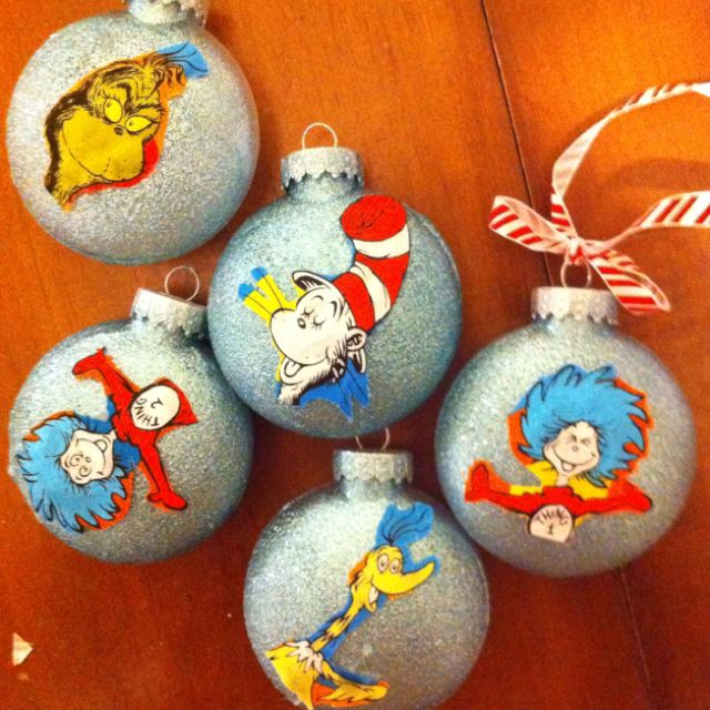 Dr Seuss Christmas Ornaments Grinch