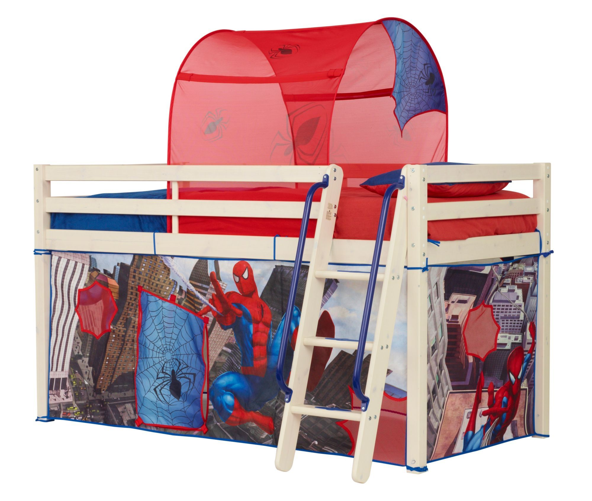 World's Apart Cabin Bed Tent Pack SpiderMan Bed tent
