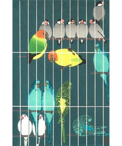 Kasamatsu-Shiro-Torikago-Birdcage-Japanese-Woodblock-Print