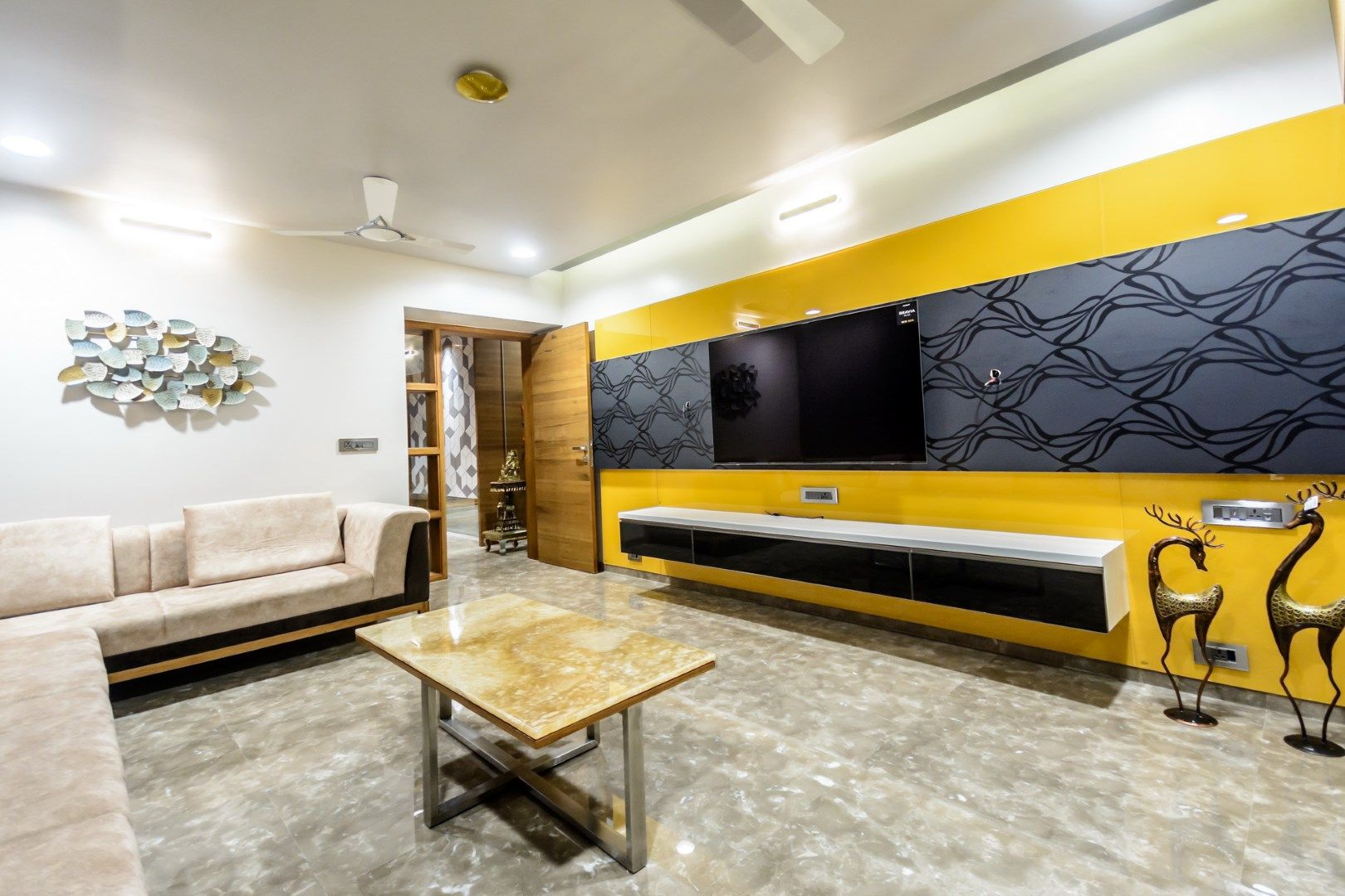 Edgy Yet Graceful Family Home In Ahmedabad Home Home
