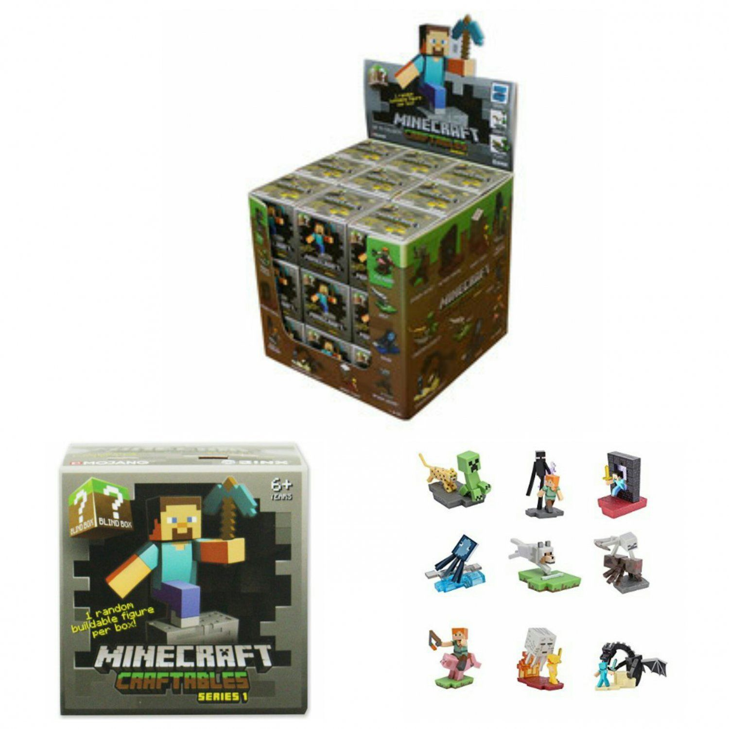 Official Minecraft Craftables Series 1 Random Buildable