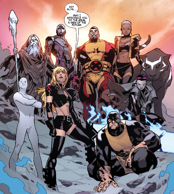 All New X Men 17 By Brian Michael Bendis And Stuart Immonen Nerd