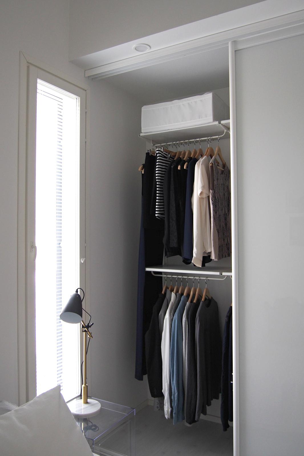 Hannas home clothing closet bedroom interior pinterest