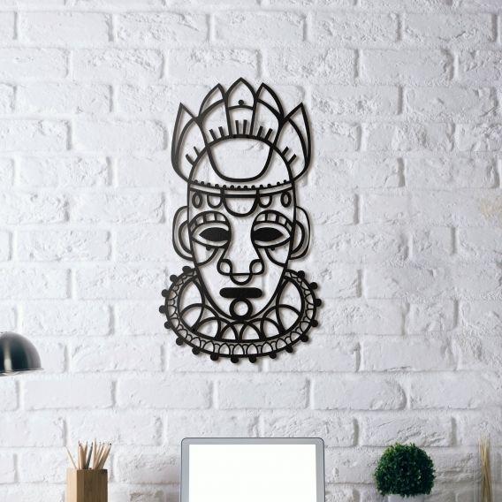 Décoration métal masque salvation masque inca en décoration murale métal disponible sur artwall and co
