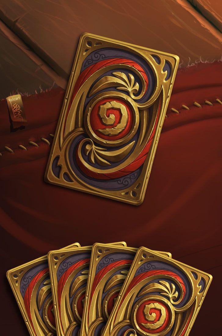 Hearthstone fan art honour cardback card art game card