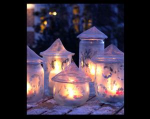 Decorazioni Luminose Natalizie Fai Da Te : Come fare lanterne natalizie fai da te tutorial lanterne