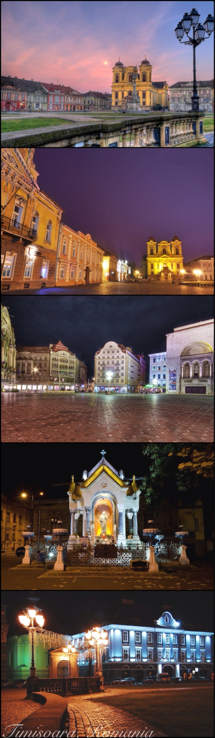 Romania postcard images