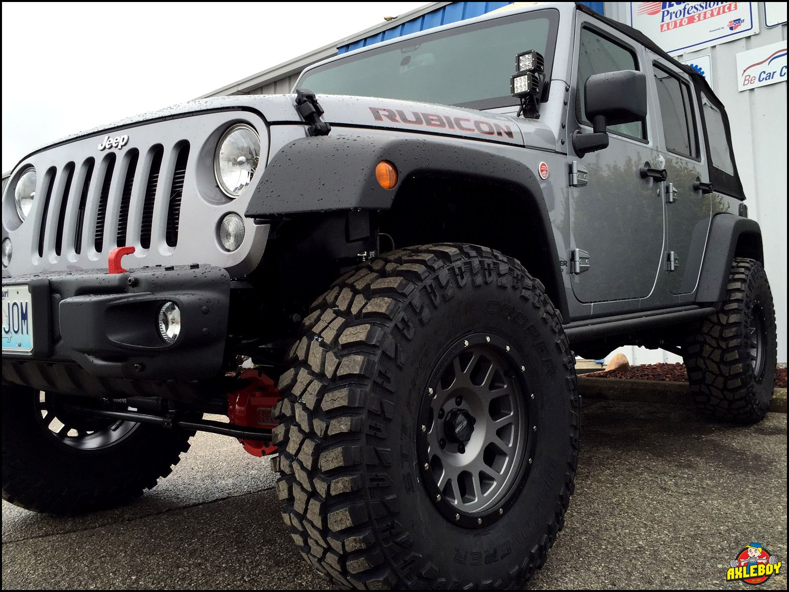 2016 Jeep Wrangler Rubicon Riding On A 3 Teraflex Lift And 37 Cooper Stt Pro Tires More Pi Jeep Wrangler Unlimited Jeep Wrangler Rubicon 2016 Jeep Wrangler