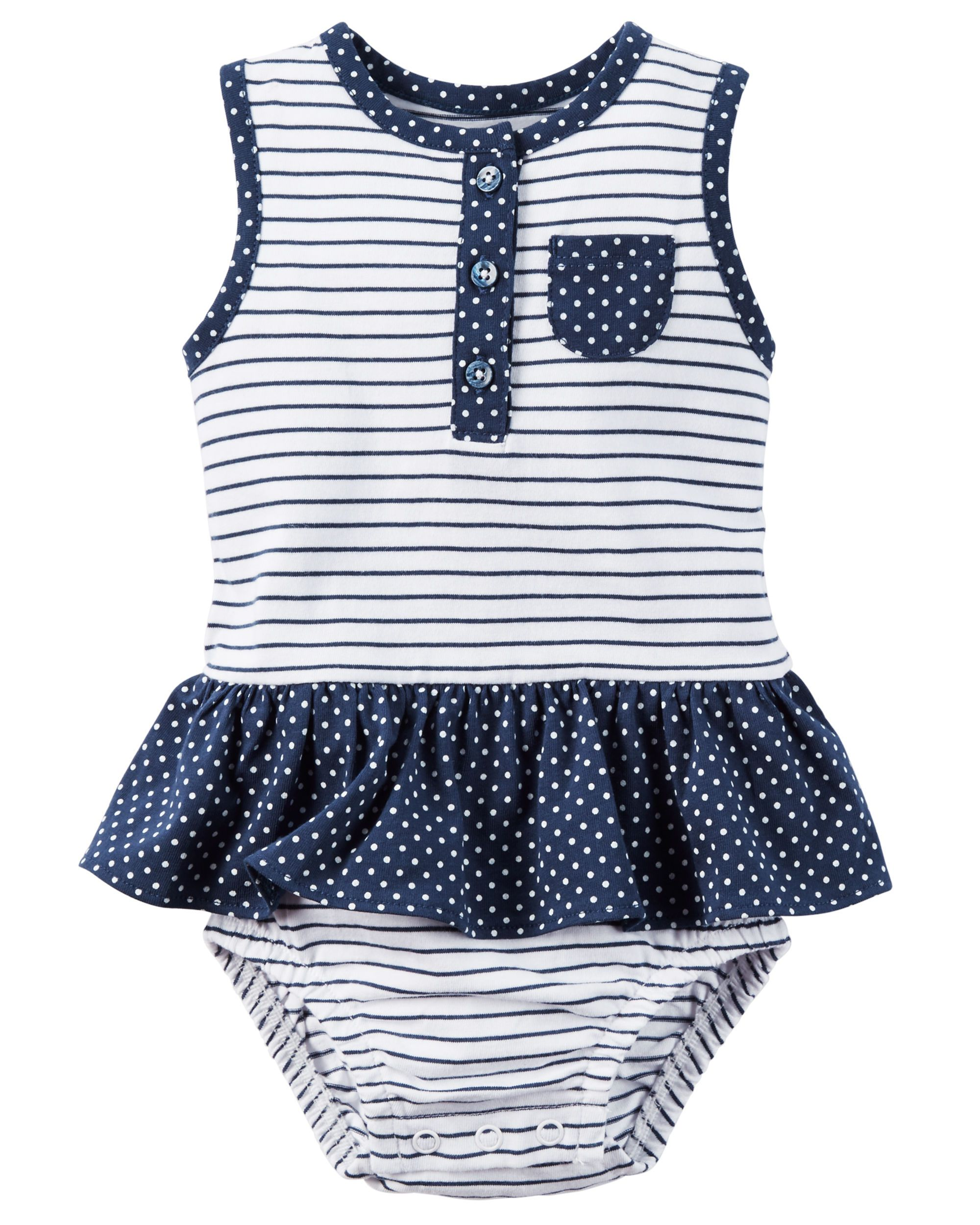 a9ca411fb Cute spring or summer baby girl outfit