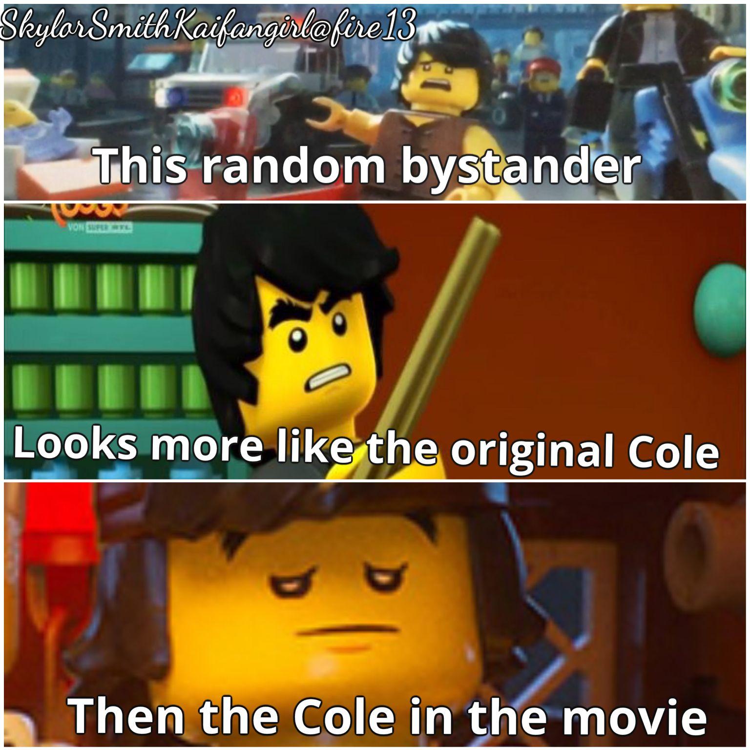 It Should Be Than Not Then Ninjago Memes Ninjago Cole Ninjago