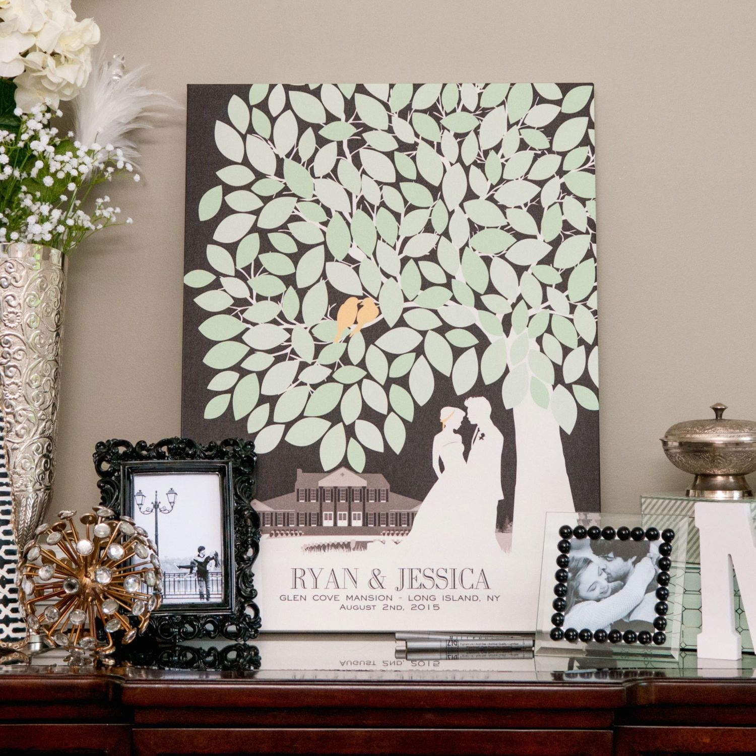 Signature guest book for your wedding | Wedding and Events ...