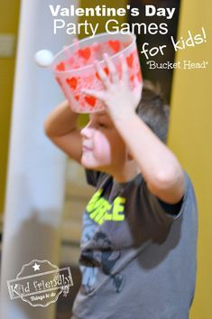 9 Hilarious Valentine's Day Games for Kids - Minute to Win It Style | Kid Friendly Things To Do