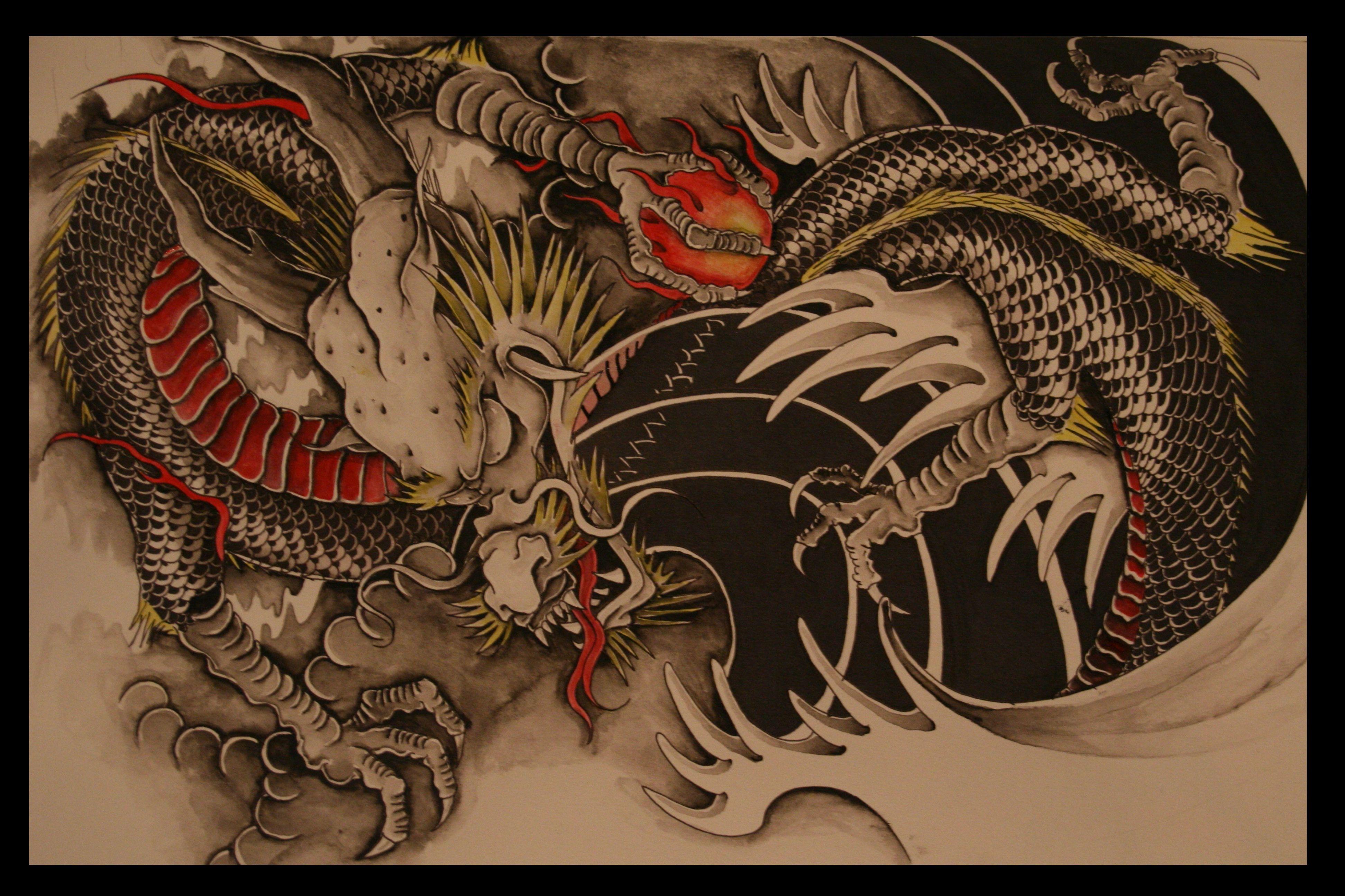 Pin By Jerolyn Crute On Tattoo Designs Earth Dragon Chinese Zodiac Dragon Tattoo Designs Dragon Tattoo