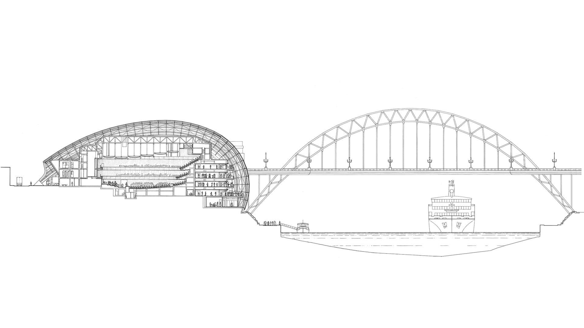 Sage Gateshead | Architecture Projects | Foster + Partners ...
