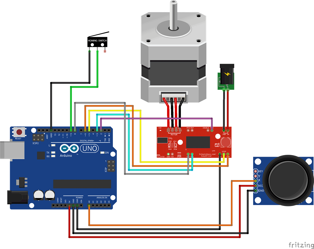 Multiple stepper motors arduino for Arduino and stepper motor
