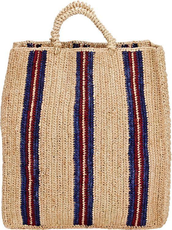 4eee05e92f Soeur Sac 3 Tote-Multi | Purse inspo | 가방, 뜨개질, 패션