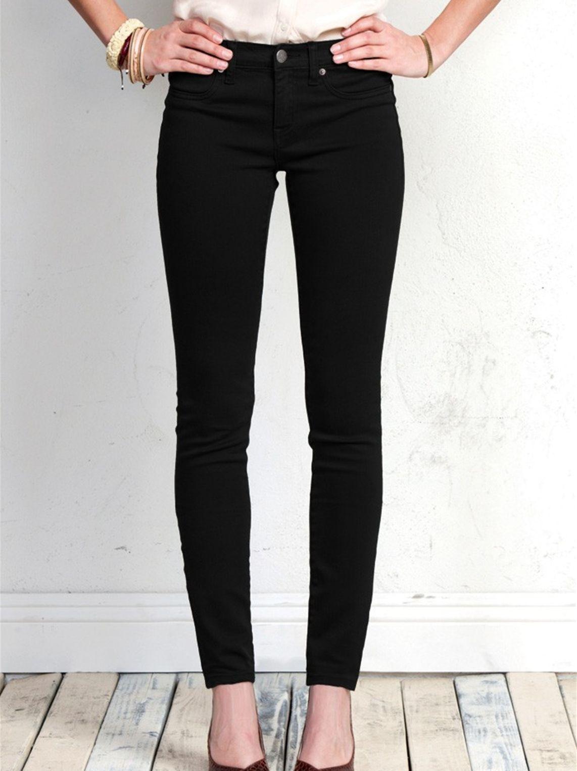 Women/'s Henry /& Belle Super Skinny Ankle Jean in Pitch