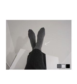Holicholic Plain sock  3color, I'm so humble