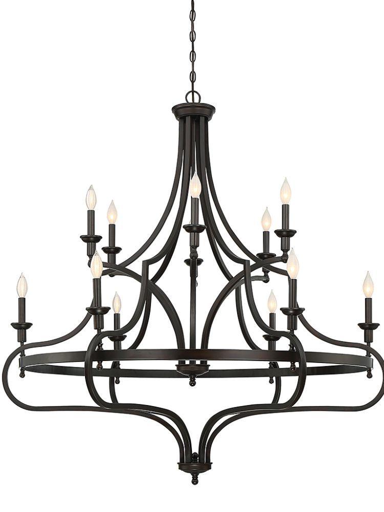 Savoy House 190841213 Sheilds 12 Light Chandelier In