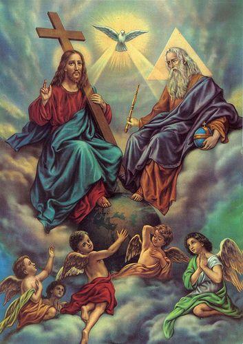 Holy Trinity | Catholic | Catholic prayer book, Holy spirit