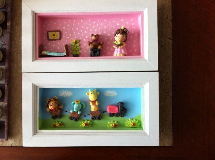 cuadros infantiles tridimensionales