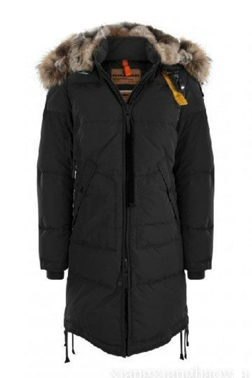 Women's Parajumpers Light Long Bear Jackets Ink Black, 68% off. Cheap sale.