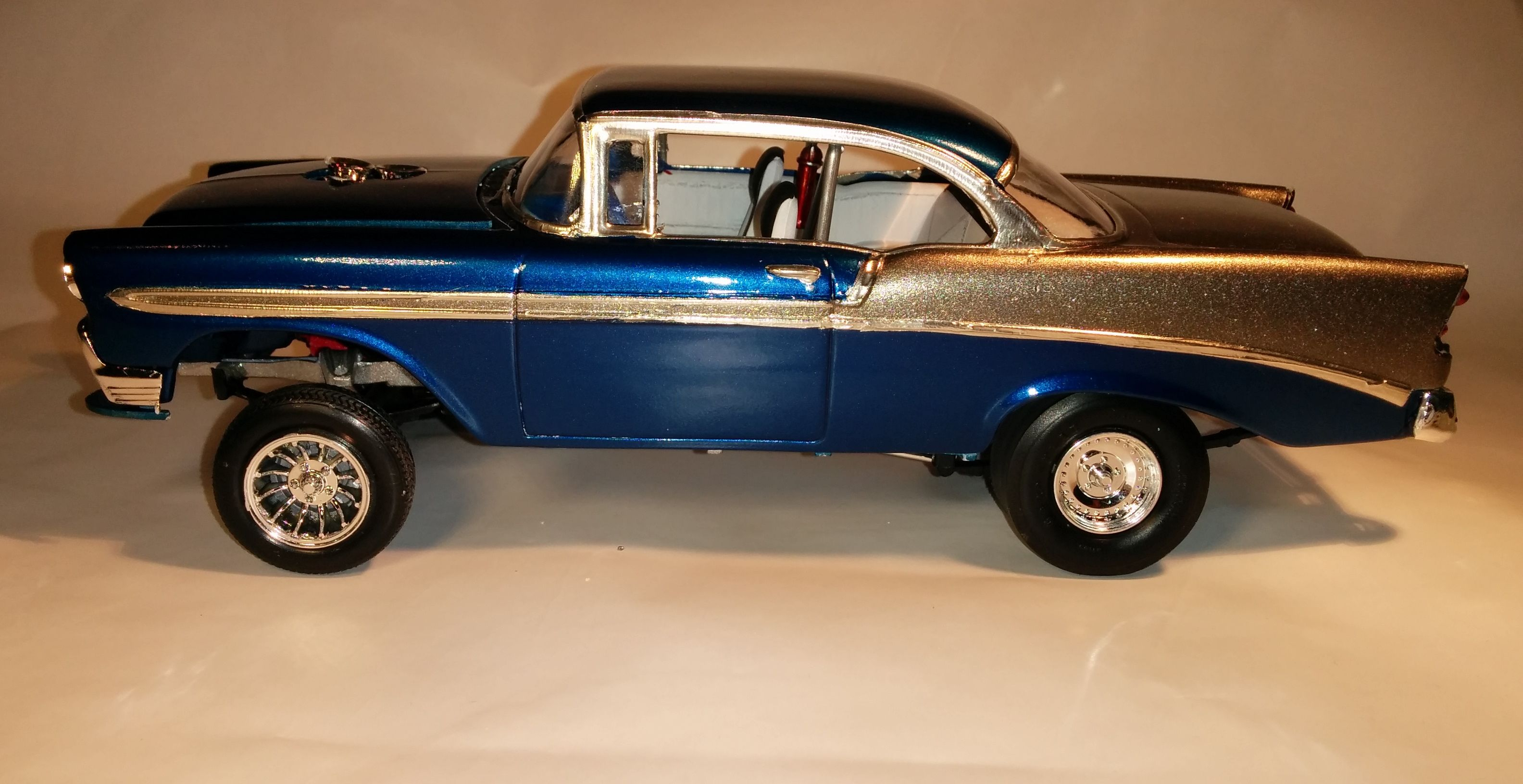 1956 chevy bel air gasser scale model cars cars trucks scale rh pinterest com