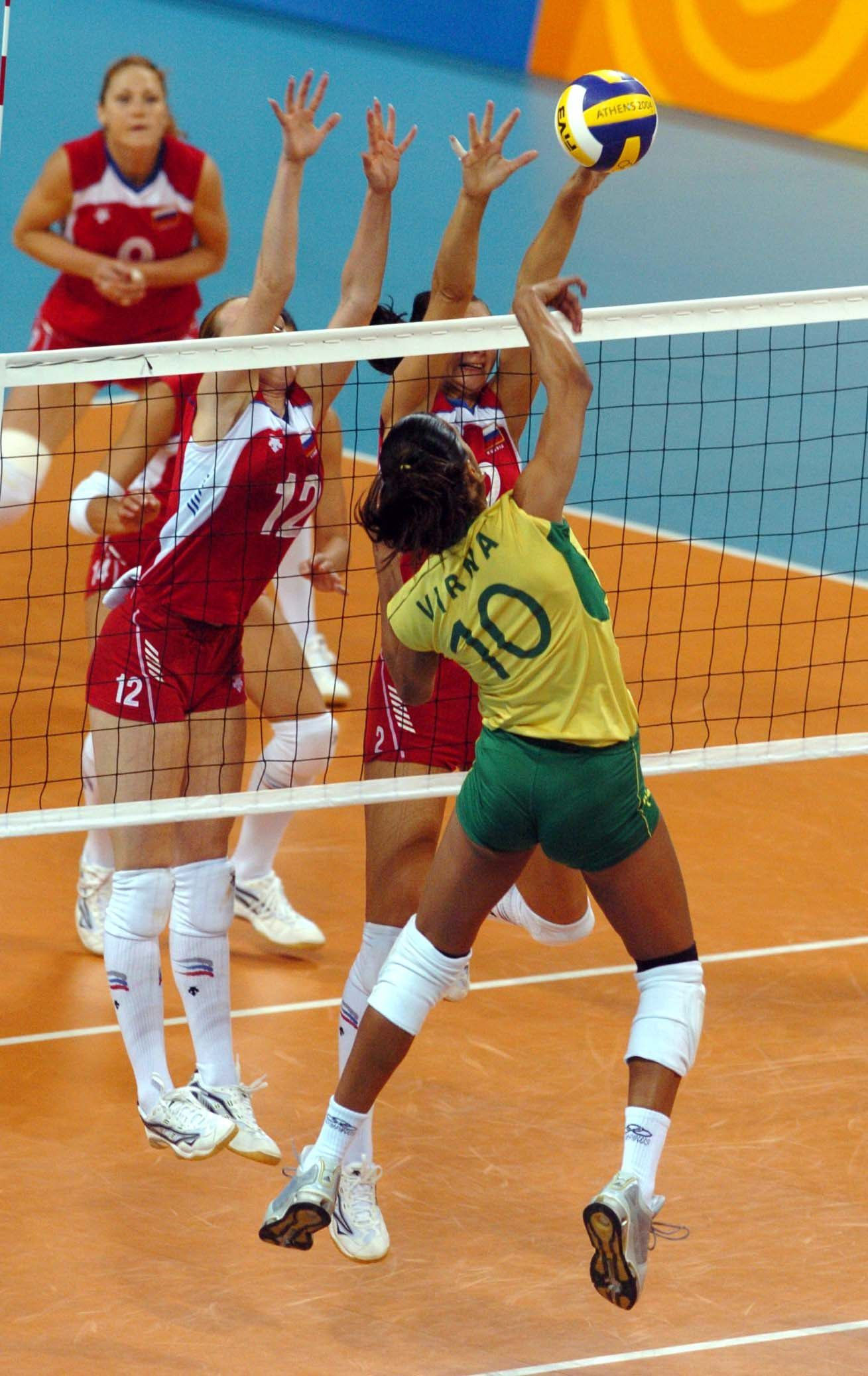 Women S Volleyball Olympic Games 2004