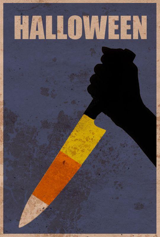 The Best Of Minimalist Horror Movie Poster Art Halloween
