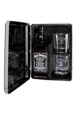 Coffret Jack Daniels Avec Deux Verres Jack An