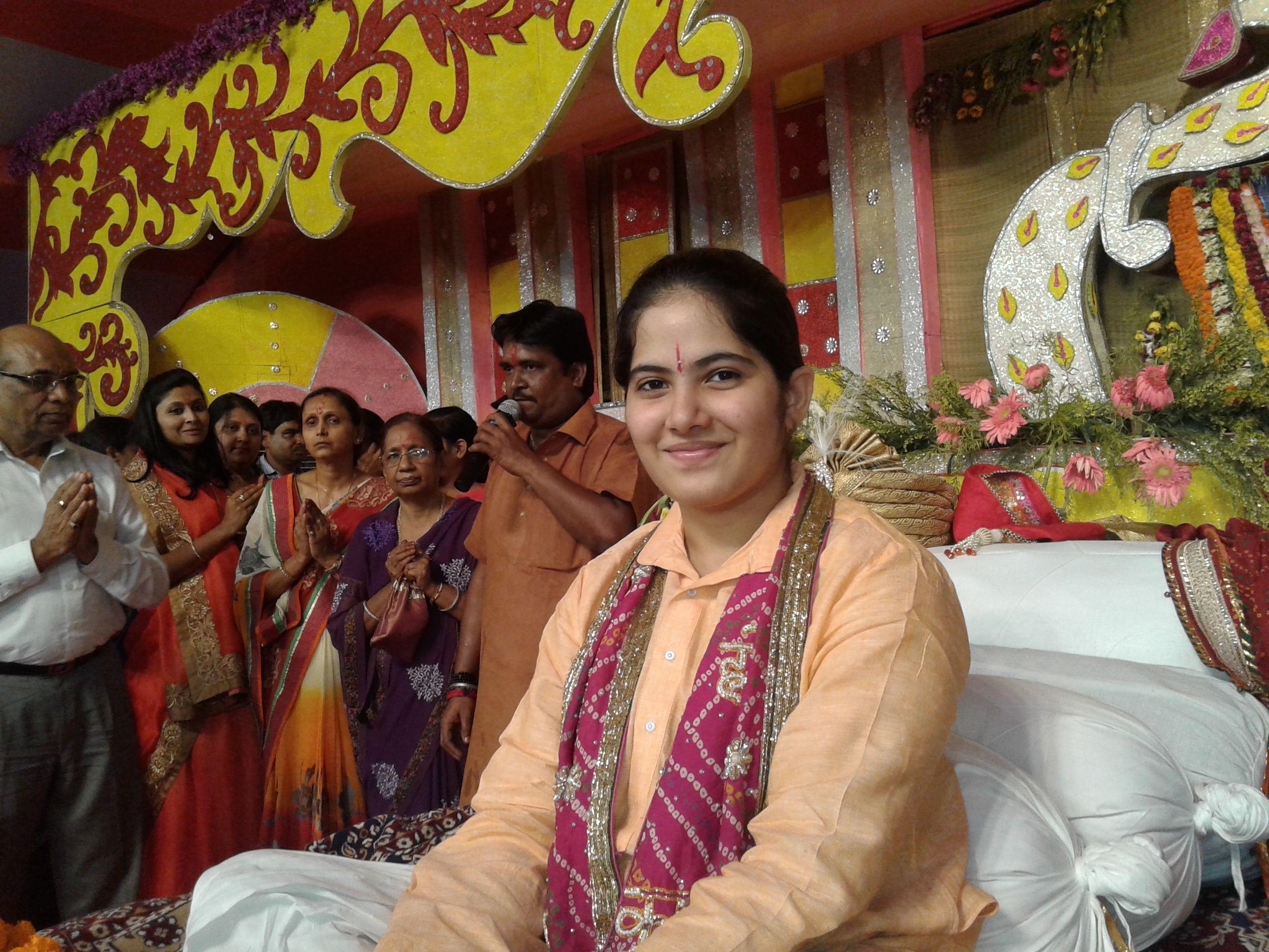 Live telecast of Nani Bai Ro Mayro by Pujya Jaya Kishori Ji