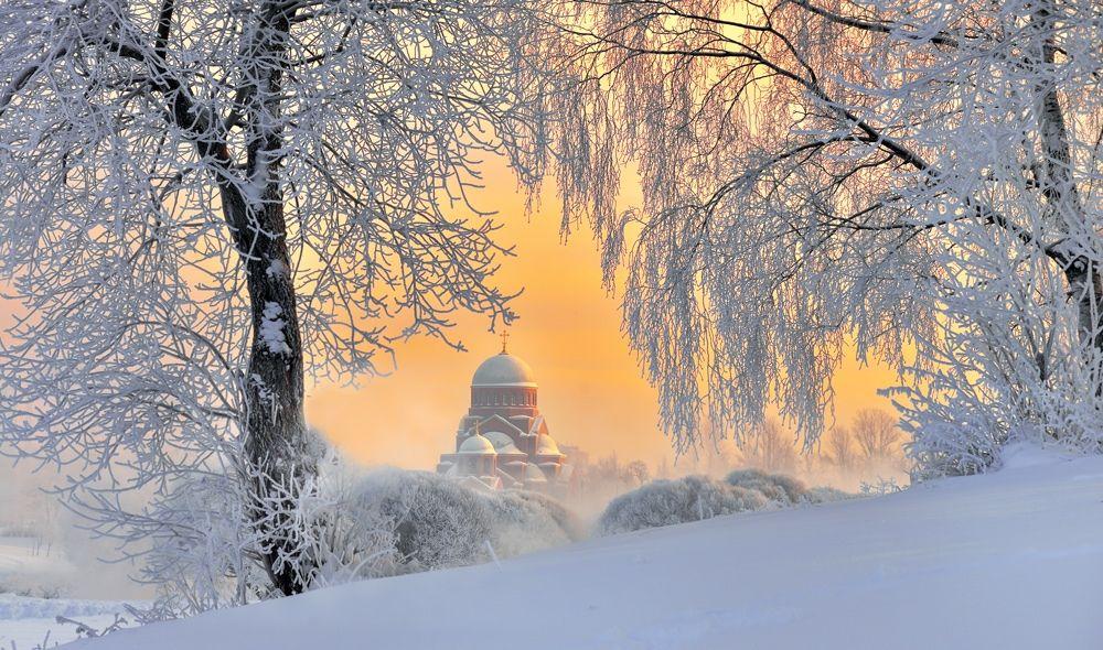 Красивая зима - фото с описанием мест | Пейзажи, Зимние ...