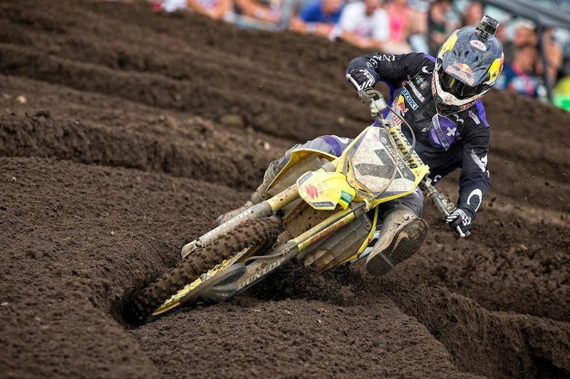 James Stewart deep in rut