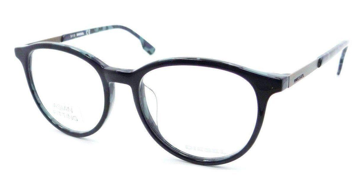 Diesel Rx Eyeglasses Frames DL5117-F 092 52-17-150 Blue Spotted Blue ...