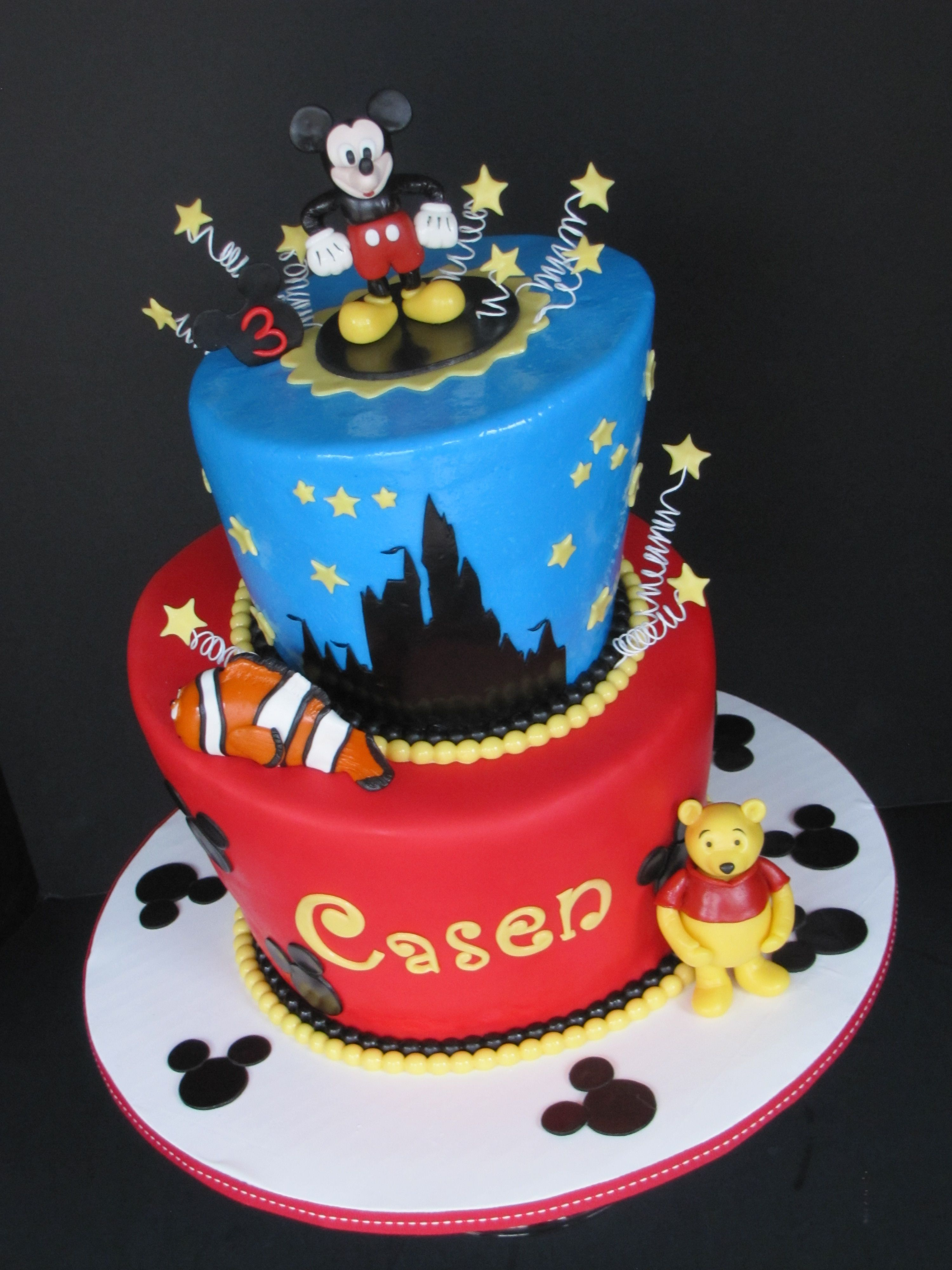 Mickey Mouse Birthday Cakes Pictures