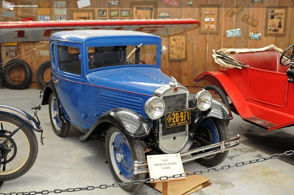 American austin coupe 1930 austin cars automobile