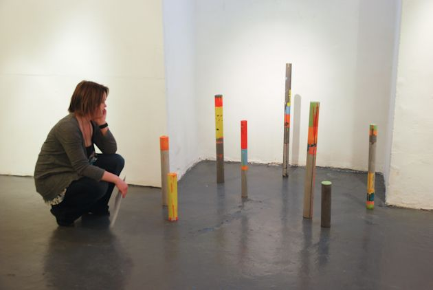 Urban Space - solo exhibition in Bristol by Helen Shaddock