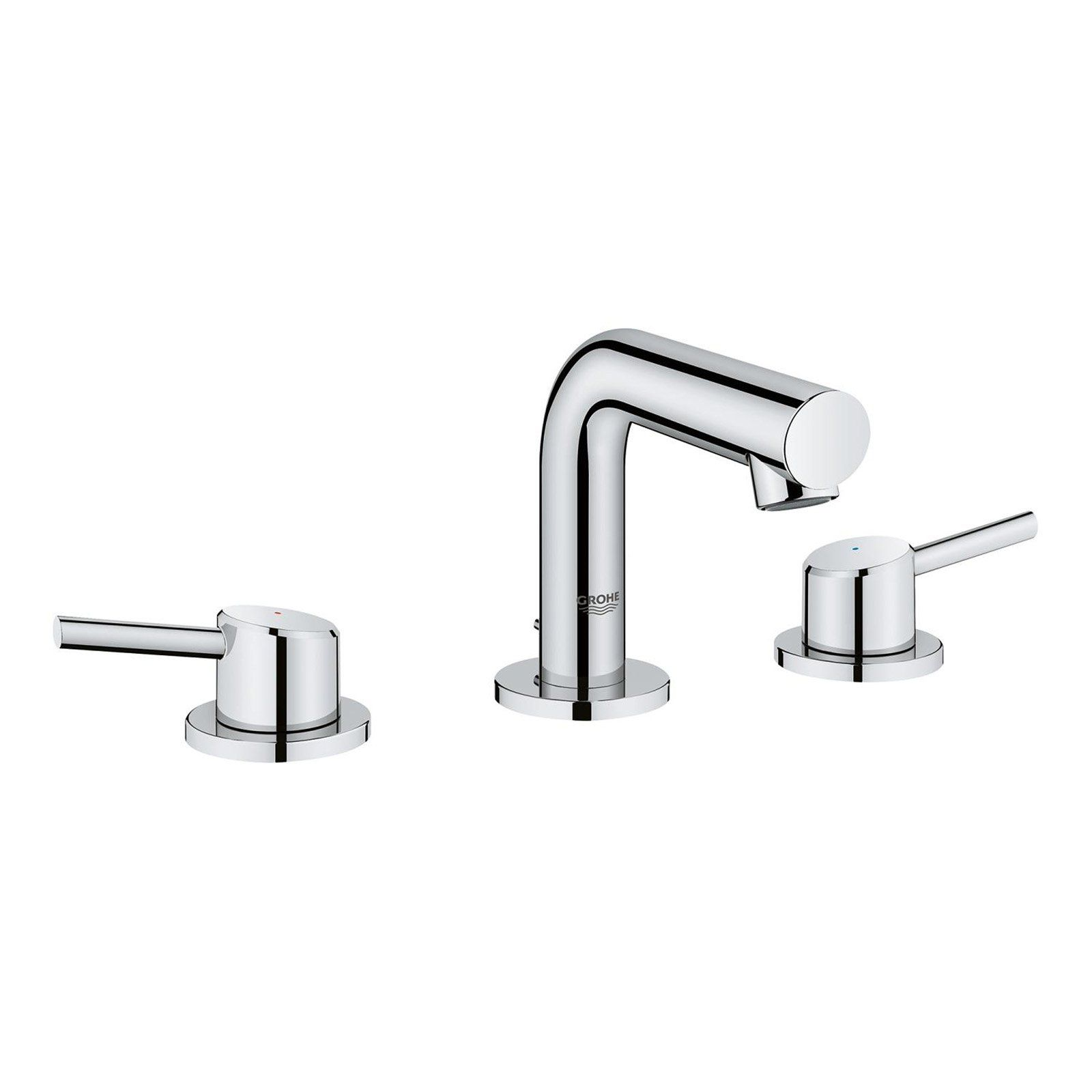 grohe concetto 20572001 widespread bathroom sink faucet in 2019 rh pinterest com