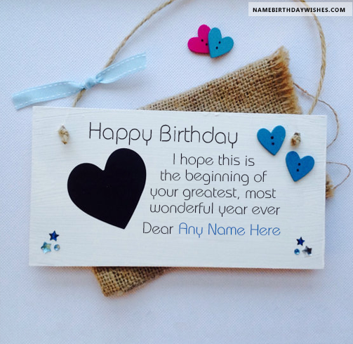 Birthday Card Messages For Friends With Name Hbd Wishes