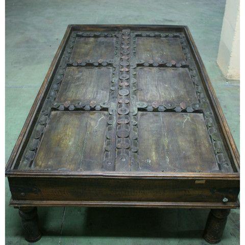 Green Indian Door Coffee Table Furniture in general Pinterest