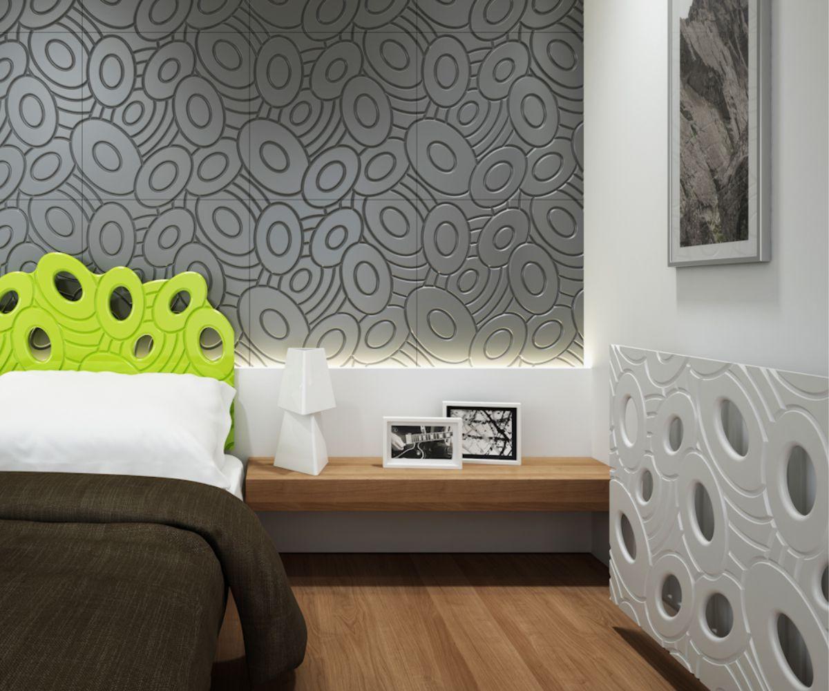 Dormitor Tablie Pat Masca Calorifer Perete Mdf 3d Vopsit  # Muebles Kowalczuk